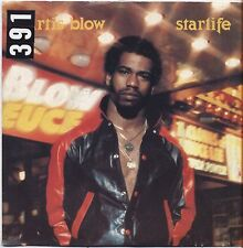 "KURTIS BLOW - Starlife - VINYL 7"" 45 LP ITALY 1980 VG+ COVER VG- CONDITION"