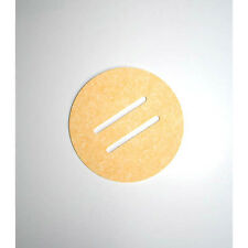 "Hakko A1519 Solder Tip Cleaning Sponge with Two Holes, 2-1/2"" Diameter x 5/8"""