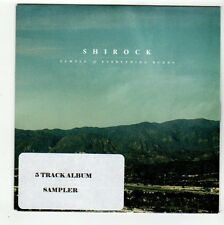 (FC490) Shirock, Everything Burns 5 track album sampler - 2013 DJ CD