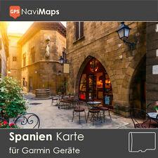 Topo Karte Spanien Garmin Edge GPSMap Etrex Nüvi Astro Oregon Dakota Montana