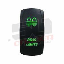 Green 2 Way Rocker Switch On/Off Rocker Switch Dual Rear Lights Polaris Honda XP