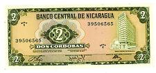 Nicaragua ... P-121a ... 2 Cordobas ... D.1972 ... *UNC*