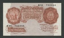BANK OF ENGLAND - Catterns  10s/-  1930-4  Uncirculated  ( Banknotes )