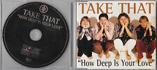 MAXI CD SINGLE 3 TITRES TAKE THAT HOW DEEP IS YOUR LOVE (BEE GEES) 1996 TBE