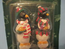Christmas Penguin Bar Set NEW Bottle Opener and Paring Knife Winter