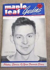 NHL STANLEY CUP FINALS HOCKEY PROGRAM - 1949 1950 - RED WINGS RANGERS - RARE