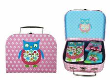 Owl Gift Carry Case Clothing Set Pink Annabel Trends 6-12 months CLEARANCE SALE