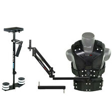 FLYCAM 5000 Camera Steadycam System w Comfort Arm and Vest for Camera load 5kg