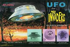 2015 Atlantis Models #1006 Aurora The Invaders UFO 1/72 Scale Model Kit new in