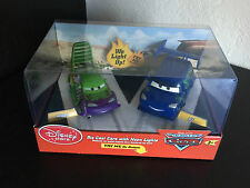 Disney Store Exclusive World of Cars Wingo and DJ diecast with neon lights!