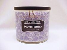 Boulevard Patchouli Halloween Skulls Candle Soy Wax 12 Ounce Plus Free Shipping