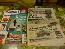 """lot 2 livres """" La vie du jouet 1999 à 2006"""" T.B.E !!"""