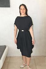 dress robe lycra noir + ceinture HIGH USE taille M (38)  NEUVE ÉTIQUETTE v 450€