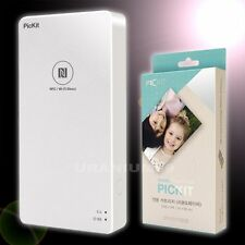 Pickit Photo M1 Printer White for Smartphone  iPhone iOS  Android + 20 Sheets