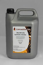 Lancashire Oils 5L Can 10w/40 Fully Synthetic 4 Stroke JASO MA2 Oil