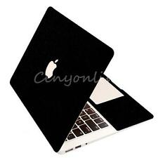 "13.3"" Black Full Body Guard Sticker Skin Protector For Apple MacBook Pro Retina"