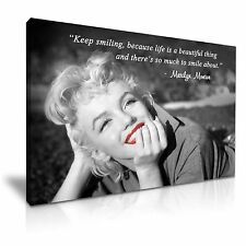 MARILYN MONROE HOLLYWOOD icona CANVAS WALL ART PICTURE PRINT A1 dimensioni 76cmx50cm 21