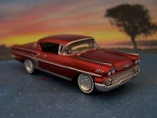 58 1958 CHEVY IMPALA 1/64 SCALE DIECAST COLLECTIBLE MODEL DISPLAY - DIORAMA