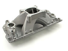 Speedmaster Chevy SBC 350 Shootout +Plus 57-95 High Rise Intake Manifold Satin