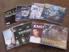 EMINEM - 8 CD SINGLES - WHEN I'M GONE - WITHOUT ME - LOSE YOURSELF - MY BAND