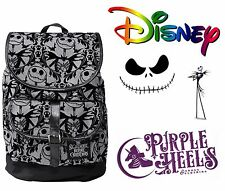 DISNEY Nightmare Before Christmas ZUCCA Re in Velluto In Rilievo Slouch Zaino