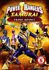 Power Rangers Samurai: Volume 3 - Team Spirit - DVD NEW & SEALED