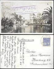 Brazil Rio Grande Praca Tamandare old real photo PC 1932.