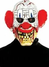 Men CHUCKLEHEAD Scary Clown Mask Red Hair Adult Teen Don Post Studio 6721903 PMG
