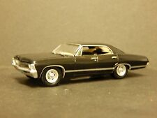 GL 1967 Chevrolet Impala Sport Sedan SUPERNATURAL  TV Show Car Black 1/64 Scale