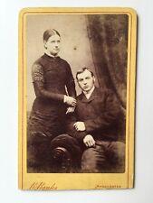 Victorian Carte De Visite CDV Photo - Banks - Manchester - Couple