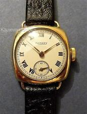 Vintage Ladies Watch Rotary 9ct Hallmarked Solid Gold Wristwatch Working 1948