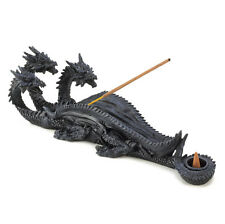 Three Headed Dragon Incense Burner Cone Stick Holder