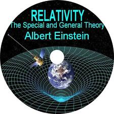 Relativity: The Special and General Theory Albert Einstein Audiobook 4 Audio CDs