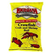 LOUISIANA FISH FRY PRODUCTS POWDER SHRIMP CRAB BOIL 4.5 POUNDS! Free recipe