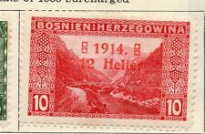 Bosnia Herzegovina 1914 Early Issue Fine Mint Hinged 12h. Surcharged 113366