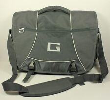 GUESS Nylon Gray Silver  Messenger Bag Briefcase Computer Bag