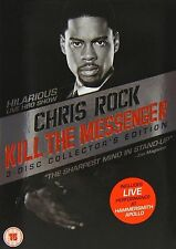 Chris Rock Kill the Messenger Collectors Edition DVD New sealed Original UK R2