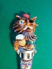 """New Rare Version One Eyed Alley Cat Lost Coast 11"""" Beer Keg Tap handle Marker"""
