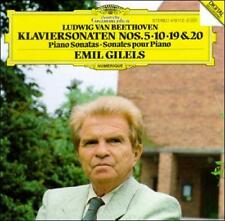 EMIL  PIANO GILELS - Beethoven: Klaviersonaten Nos. 5, 1... CD Like New / Mint