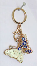 Feng Shui Evil Eye with Butterfly car hanging door hanging key chain