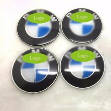 4PCS Hubcaps Wheel Center Caps Wheels Cover Has Logo 56mm For BMW