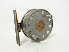 "Vintage Antique Brass & Alloy Trout 3"" Fly Fishing Reel"