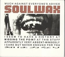 Soulwax - Much Against Everyone's Advice, CD Single