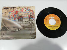 "WAR OF THE WORLDS LA GUERRA DE LOS MUNDOS SINGLE 7"" VINILO VINYL 1978 SPANISH ED"