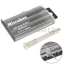 1 Set Mini Micro Spiral Hand Manual Drill Chuck Twist Pin Vise Bit Jewelry Tool