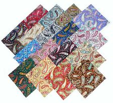 """17 10"""" Quilting Fabric Layer Cake Squares Perfect Paisley !! NEW ITEM"""