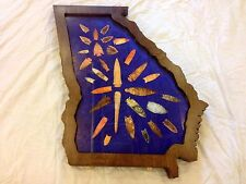Georgia Shape Artifact Case ( Display Your Passion!!)