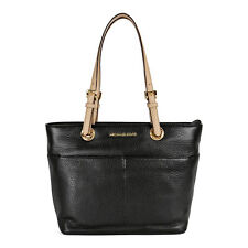 Michael Kors Bedford Leather Tote - Black