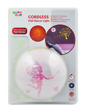 The Wunders Company Wall Decor Night Light Fairy and Butterfly Glow in the Dark