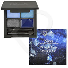 Sleek Make Up I-Quad Eye Shadow & Gel Liner Palette Light & Dark Blue Grey Black